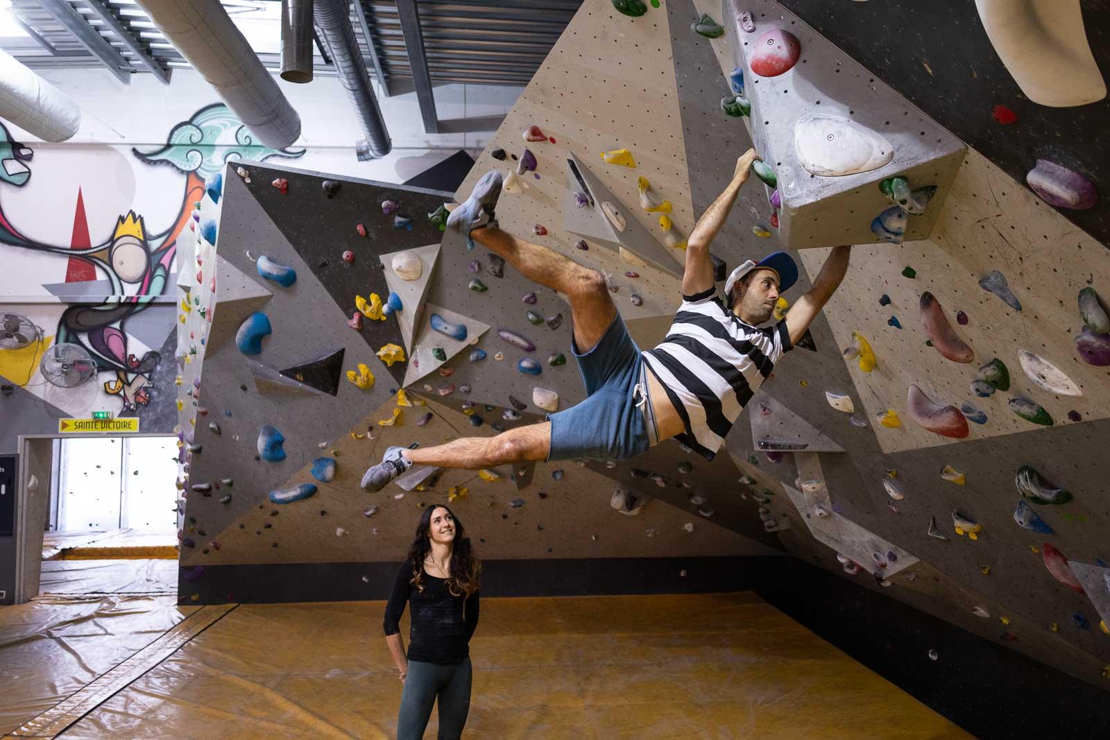 Salle d'escalade Climb Up Marseille - La Valentine