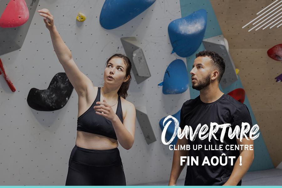 Ouverture prochaine de Climb Up Lille centre